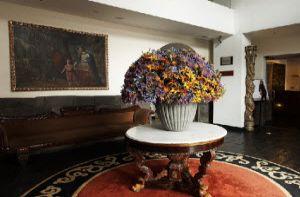 Pasillo del Hotel Libertador en Cusco Perú