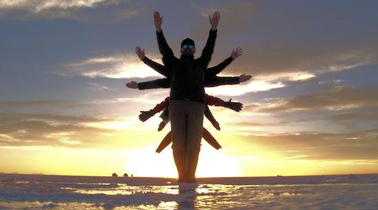 Uyuni salt flats - Bolivia