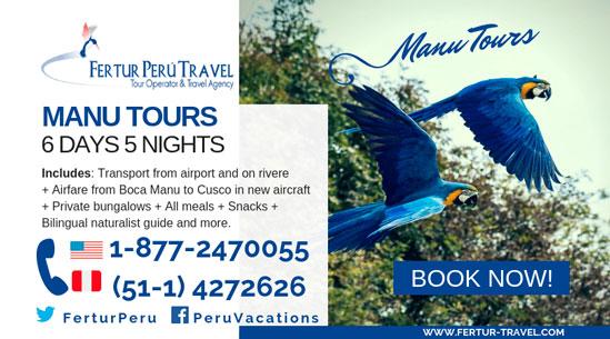 Manu Jungle Trips 6 days 5 nights