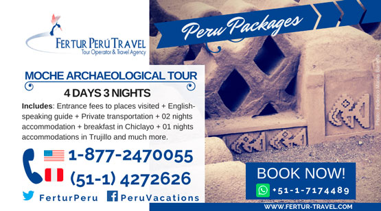 Moche Archaeological Tour: 4 Days 3 Nights Tour in Chiclayo and Trujillo