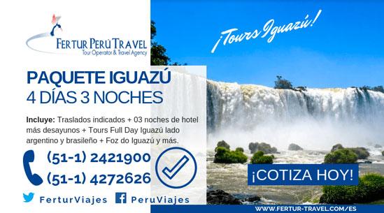 Paquete a Iguazú 4 días 3 noches
