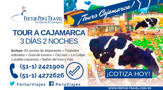 Tour Cajamarca 3 días 2 noches: Visita a la Granja La Collpa