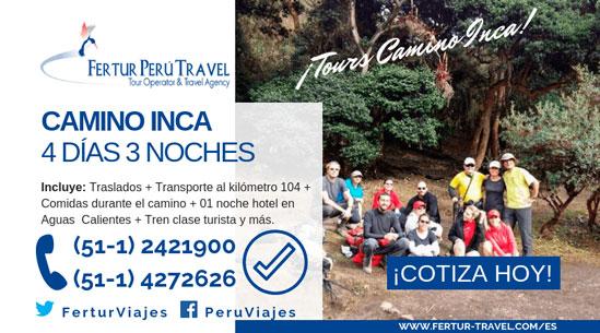 Camino Inca 4 días, el clásico paquete turístico para conocer Machu Picchu