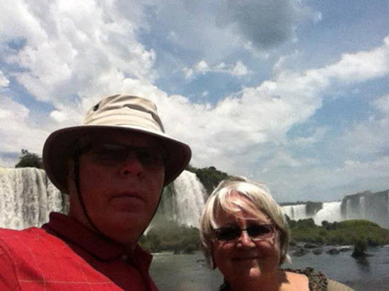Bernie and Mary from Canada - Peru, Argentina and Brazil tours
