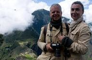Andrea and Antonella got great photos of Machu Picchu