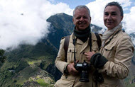 Andrea and Antonella got great photos of Machu Picchu