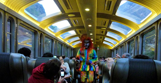 Machu Picchu Private Tours with Vistadome Train