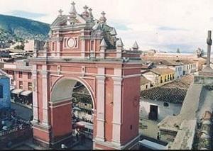 Arco del Triunfo o de San Francisco en Ayacucho