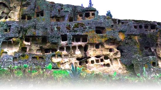 Ventanillas de Otuzco en los Tours a Cajamarca