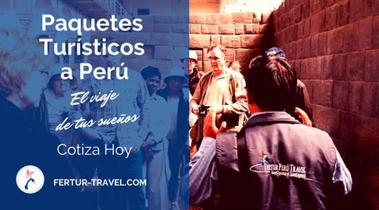 Paquetes Turísticos a Perú: Mejores Precios e Itinerarios