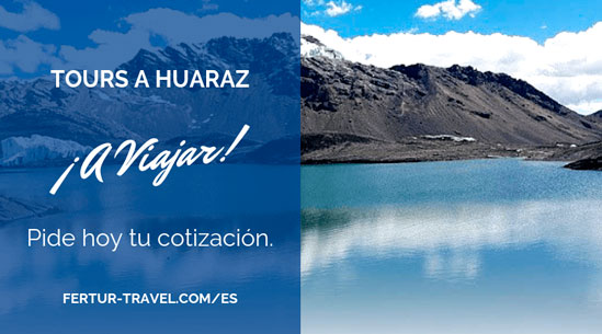 tours a huaraz con Fertur Perú Travel- Imagen Laguna Llanganuco, vía Pixabay.